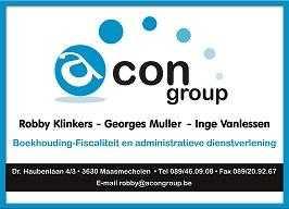 Acon group boekhouding - fiscaliteit